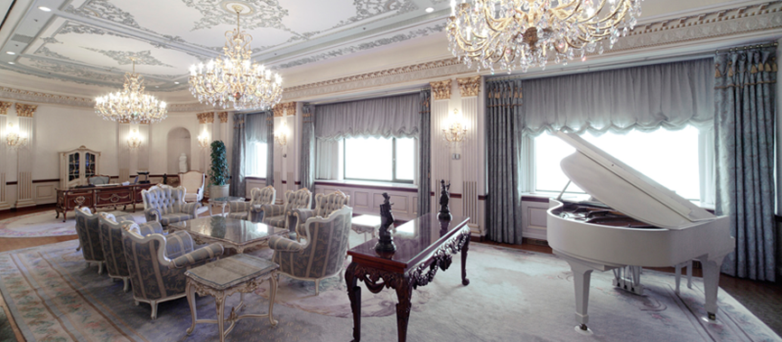 <p>The suite is an extra-special room for state guests and VIPs from around the world.</p>